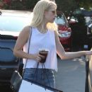 Emma Roberts Street Style – Shopping in West Hollywood 8/20/2016 - 454 x 681