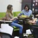 Ashley Greene and Cara Santana at a nail salon in Los Angeles - 454 x 543