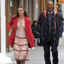 Keira Knightley film scenes for the upcoming movie 'Collateral Beauty' in New York City, New York on April 1, 2016 - 454 x 569