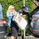 Danielle Armstrong – Showing baby bump with Tom Edney in Essex - 454 x 550