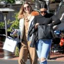 Whitney Port in Denim Jacket – Leaving Fred Segal in LA