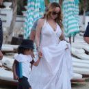 Mariah Carey- in Mykonos September 2016 - 454 x 619