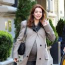 Alyson Hannigan: stroll in NYC