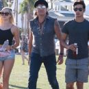 Richie Sambora and Ava Sambora at Day 3 of first weekend of The Coachella Valley Music and Arts Festival in Coachella, California on April 11, 2015 - 437 x 600