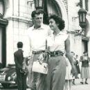 Elizabeth Taylor and Nicholas Conrad Hilton Jr