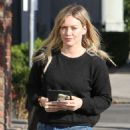Hilary Duff Out and About In West Hollywood