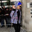 Rita Ora outside BBC Radio Two in London, UK November 19. 2012 - 396 x 594