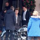 """Robert Pattinson on the set of """"Life"""" in Toronto, Canada (March 11, 2014)"""