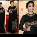 Aishwarya Rai At The Cannes Gala Honoring 100 Years of Indian Cinema