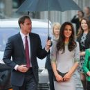 Kate Middleton & Prince William at 'African Cats' film premiere