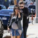 Kourtney Kardashian Out For Lunch At Joans On Third In La
