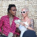 Amber Rose and Wiz Khalifa at Ace Of Diamonds in West Hollywood, California - June 6, 2016