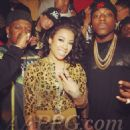 Keyshia Cole and Baby aka Birdman - 454 x 454