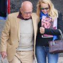 Jerry Hall and Rupert Murdoch - 454 x 873