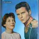 Horst Buchholz and Myriam Bru, Cine Revelation №251, 1959 - 454 x 597