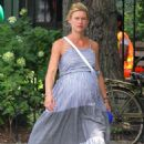 Claire Danes in Long Dress – Out in New York City - 454 x 681