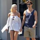 Candice Swanepoel and Hermann Nicoli out and about in NYC (June 21)