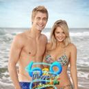Luke Mitchell and Indiana Evans