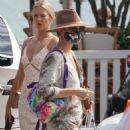 Charlize Theron – Out for dinner with her daughters at Nobu in Malibu