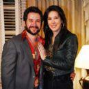 Murilo Benício and Cláudia Raia
