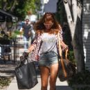Kate Walsh is seen out and about in LA on August 4, 2015