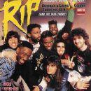 Joey Belladonna, Frank Bello, Scott Ian, Charlie Benante, Dan Spitz - Rip Magazine Cover [United States] (August 1989)