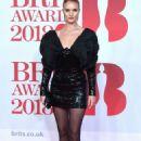 Rosie Huntington Whiteley – 2018 Brit Awards in London adds - 454 x 708