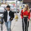 Sophie Turner and Joe Jonas Shopping at Kitson Kids in West Hollywood