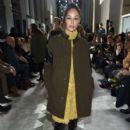 Cara Santana attends the Longchamp Fall/Winter 2019 Runway Show on February 9, 2019 in New York City - 399 x 600