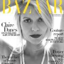 Claire Danes Harpers Bazaar Uk October 2014