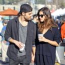 Phoebe Tonkin and Paul Wesley hold hands out in Studio City - 454 x 591