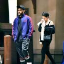 Selena Gomez and The Weeknd at Disneyland in Anaheim - 454 x 544