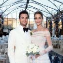 Ana Beatriz Barros and Karim El Chiaty- wedding ceremony in Mykonos, Greece - 454 x 681