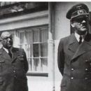 Dr Theodor Morell and patient Adolf Hitler