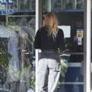 Tori Praver – Wears masks and gloves at a Post Office in Beverly Hills - 454 x 681