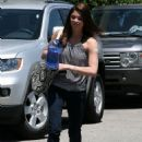 Ashley Greene was spotted at the gym today, June 21, in California