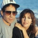 Carrie Fisher and Paul Simon - 454 x 660