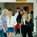 Kate Beckinsale Arrives at Heathrow Airport in London