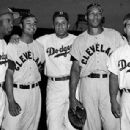 Jackie Robinson, Larry Doby, Don Newcombe, Luke Easter & Roy Campanella