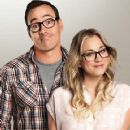 Chris Klein and Kaley Cuoco-Sweeting
