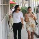 Jennifer Garner and Summer Phoenix – Heading out after lunch at Croft Alley in Beverly Hills