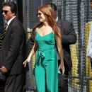 Isla Fisher – Arrive at 'Jimmy Kimmel Live' in Hollywood - 454 x 681