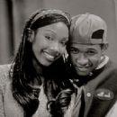 Brandy Norwood and Usher Raymond