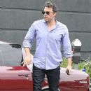 Ben Affleck arriving for a meeting in Brentwood (July 11)