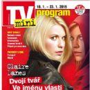 Claire Danes - TV Mini Magazine Cover [Czech Republic] (10 January 2015)