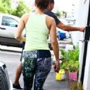 Jennifer Lopez – Goes to the Gym in Miami