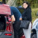 Ariel Winter With her broyfriend – Arrive at a Friends House, Studio City, CA 11/27/ 2016