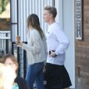 Miley Cyrus – Out for a coffee at Blue Bottle Coffee in Studio City - 454 x 681