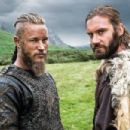 Travis Fimmel and Clive Standen in Vikings