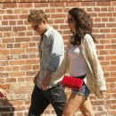 "Xavier Samuel, ""Twilight Saga"" actor, and his model girlfriend Shermine Shahrivar are spotted strolling hand in hand in Manhattan"